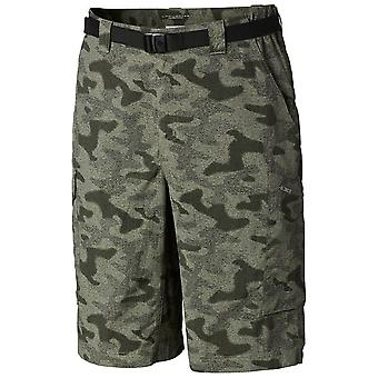 Columbia Cypress Mens Silver Ridge Printed Cargo Short