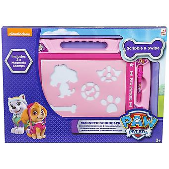 Paw Patrol Girls Large Magnetic Scribbler