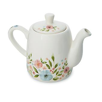 Cooksmart Country Floral Teapot