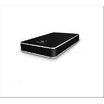 Atlantis land externe doos voor HD 2,5 ' SATA USB 2,0 zwart satijn aluminium