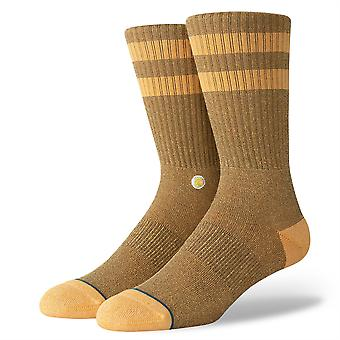 Stance Uncommon Solids Mens Socks ~ Joven mustard
