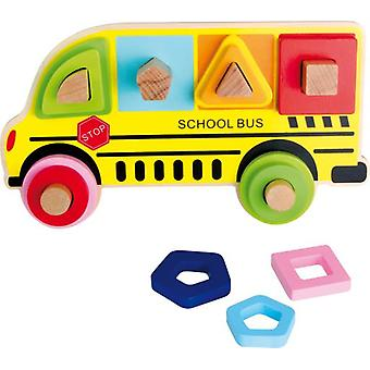 Legler School Bus Puzzle (Babies and Children , Toys , Preschool , Puzzles And Blocs)