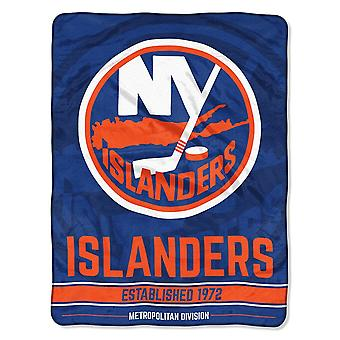 Northwest NHL New York Islanders Mikro Plüschdecke 150x115cm