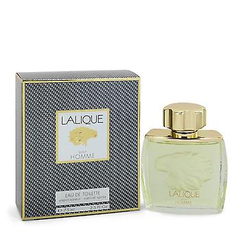 LALIQUE by Lalique Eau De Toilette Spray (Lion Head) 2.5 oz / 75 ml (Men)