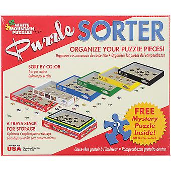 Puzzle Sorter 6 Trays- WM1084