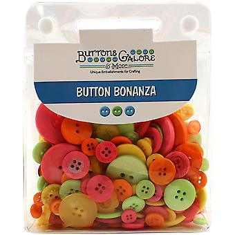 Button Bonanza .5lb Assorted Buttons-Fiesta BB-61