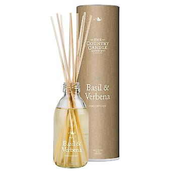 Simply Natural Collection Reed Diffuser - Basil & Verbena