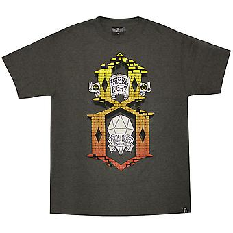 Rebel8 ladrillo por ladrillo camiseta carbón