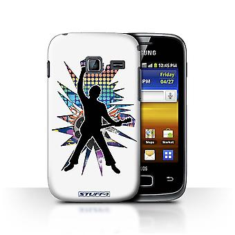 STUFF4 Case/Cover for Samsung Galaxy Y Duos/S6102/Windmill White/Rock Star Pose