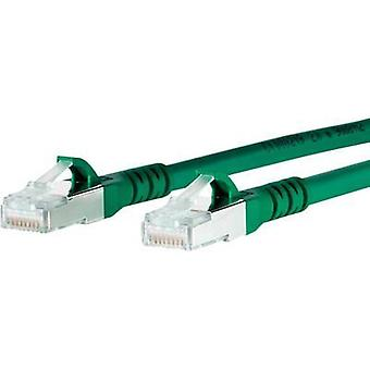 Metz Connect network cable (RJ45) CAT 6A S/FTP Green