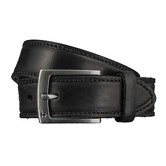 Hattric belt leather belts men's belts black 2946