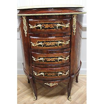 Commode baroque armoire Louis xv style antique MkKm0088Bg