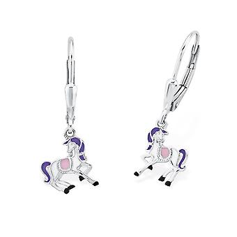 Princess Lillifee children earrings silver unicorn Rosalie 2013149