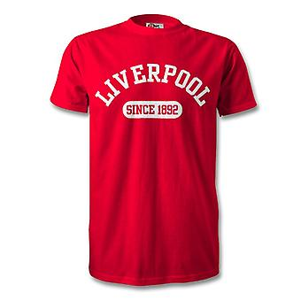 Liverpool 1892 etablerade Football T-Shirt