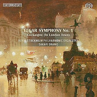 Elgar / Oramo / Royal Stockholm Po - Sym 1 & Schlaraffenland Ouvertüre [SACD] USA import
