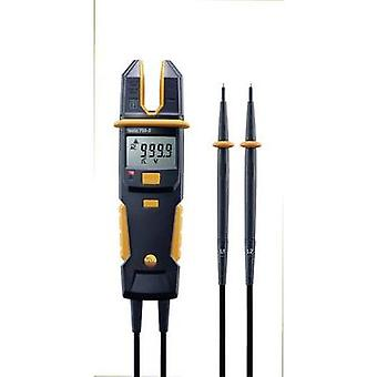 Handheld multimeter, Current clamp digital testo 755-2 Calibrated to: Manufacturer's standards (no certificate) CAT IV