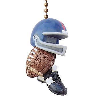 Football Cleats Fan Helmet Gridiron Ceiling Fan Light Pull