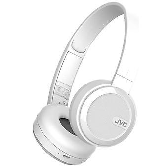 JVC Bluetooth plegable auriculares de oreja - blanca (modelo no. HAS40BTWE)