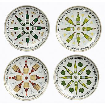 BIA Wine Cellar 19cm Side Plates, Set of 4