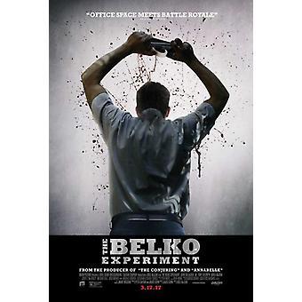 De Belko Experiment filmaffischen (27 x 40)