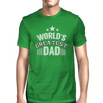 World's Greatest Dad Mens Funny Fathers Day Shirt Unique Dad Gifts