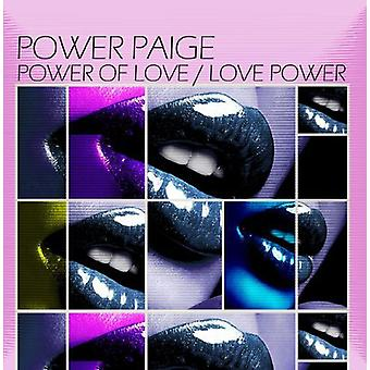 Power Paige - Power of Love/Love Power [CD] USA import