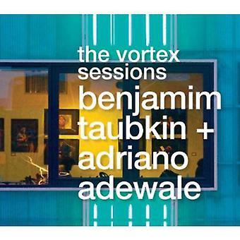 Benjamim Taubkin & Adriano Adewale - Vortex Sesssions [CD] USA importerer