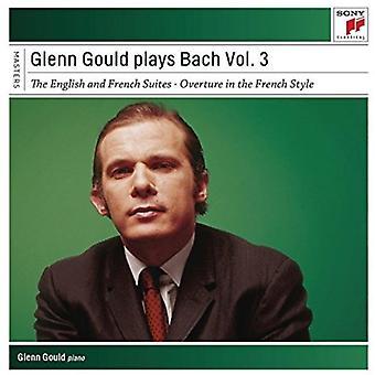 Glenn Gould - Glenn Gould spiller Bach vol. 3 [CD] USA import