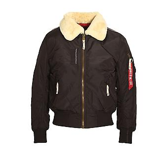 ALPHA INDUSTRIES injecteur III Bomber Jacket | Vintage Brown