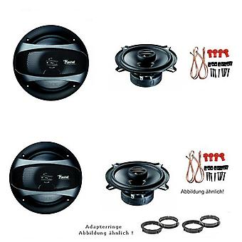 Mazda 2, speaker boxes, door front and rear