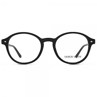 Giorgio Armani AR7004 Glasses In Matte On Shiny Black