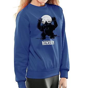Bowser Unchained Super Mario Bros kvinders Sweatshirt