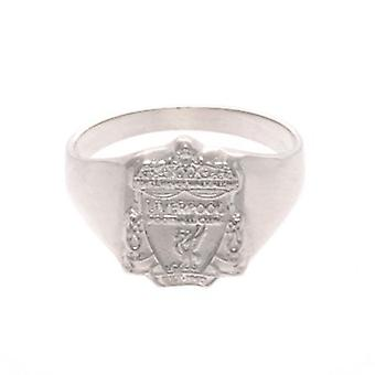 Liverpool Sterling Silver Ring Medium