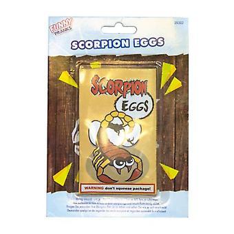 Skämt scorpion ägg