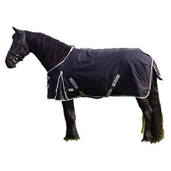 QHP Waterproof layer 0gr XL Black (Horses , Horse riding equipment , Bed covers , Others)