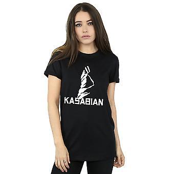 Kasabian kvinders Ultraface Logo kæreste Fit T-Shirt