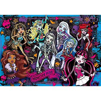 Clementoni 104 Puzzle Pieces 3D Monster High (Speelgoed , Bordspellen , Puzzels)