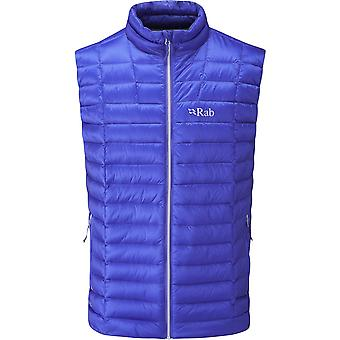 Rab Mens Altus Vest Electric/Zinc (Small)