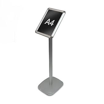 A4 Framed Menu Display Stand, PVC Chalkboard Insert