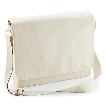 Westford Mill Fairtrade Cotton Messenger Bag