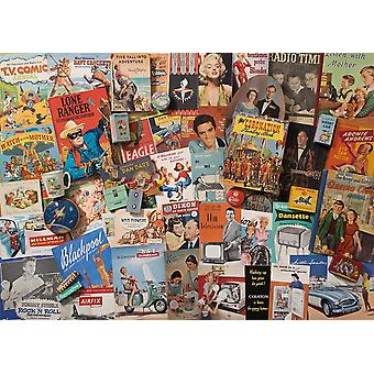 Gibsons geest van de 50s Jigsaw puzzel (1000 stuks)