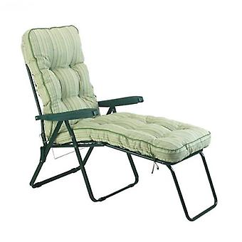 Glendale Cotswold Stripe Cushioned Lounger Chair