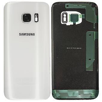Samsung Galaxy S7 back-White-original quality-with camera lens