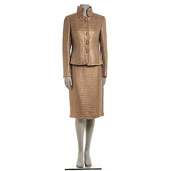 Botondi 2105B 94114 gold ladies wool dress