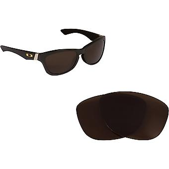 Jupiter LX Replacement Lenses Polarized Bronze Brown by SEEK fits OAKLEY