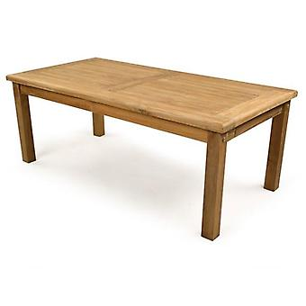 BrackenStyle Sutton Rectangular Teak 120cm Coffee Table