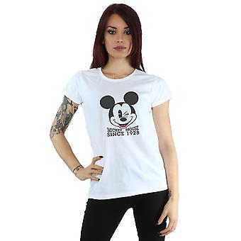 ディズニー レディース ミッキー マウス t シャツ 1928年以来