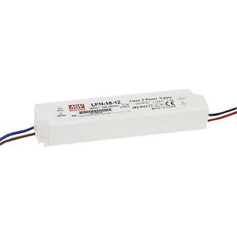 LED driver, LED transformer Constant voltage, Constant current Mean Well LPH-18-12