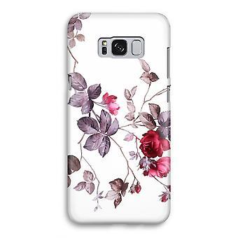 Samsung Galaxy S8 Full Print mål - vackra blommor
