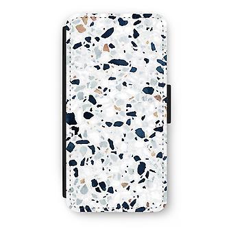 iPhone 8 Plus Flip Case - Terrazzo N ° 1